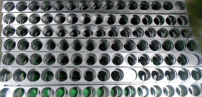 Перфорация листового металла